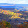 View from Waggoner's Gap, PA, 10-29-06